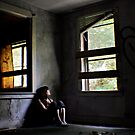 &quot;Contentment&quot; Self Portrait, Abandoned House, CT by MicheleDAmicol