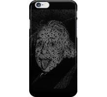 Albert Einstein quotes iPhone Case/Skin