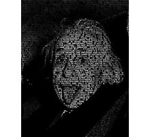 Albert Einstein quotes Photographic Print