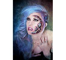 Cyanide Cyborg Photographic Print
