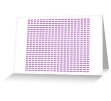 Judo Text Background Purple  Greeting Card