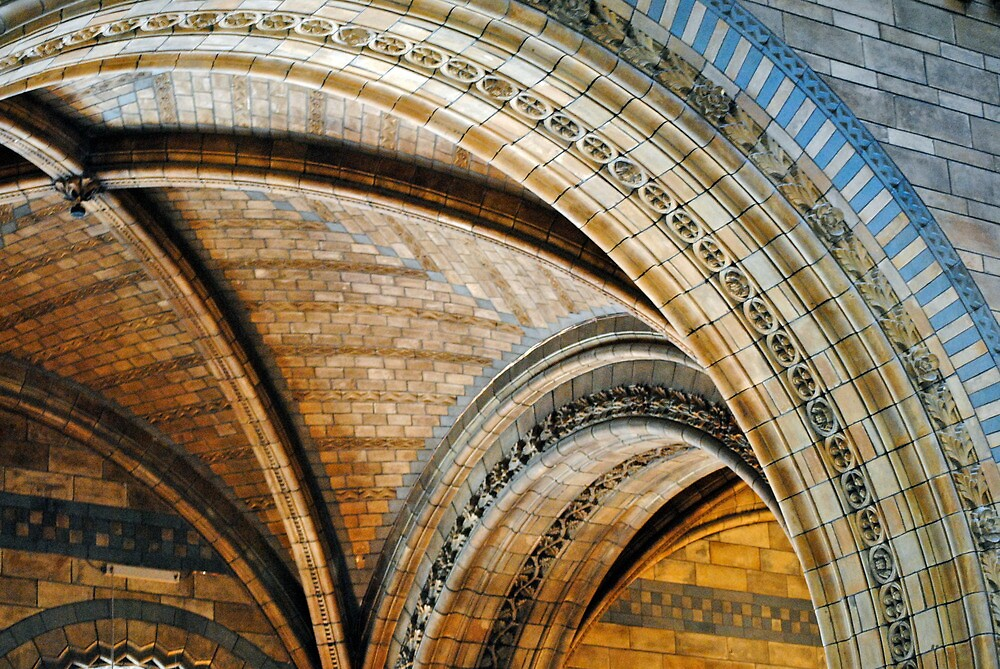 museum arches  by richard  webb
