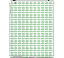 Judo Text Background Green  iPad Case/Skin