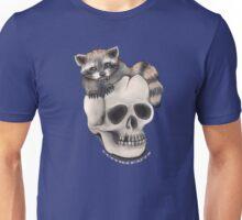 Timid Raccoon Unisex T-Shirt