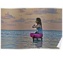 Yoga girl Poster