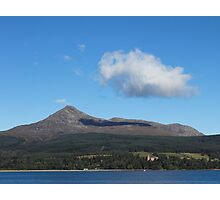 Goat Fell - Mountain of Wind Photographic Print