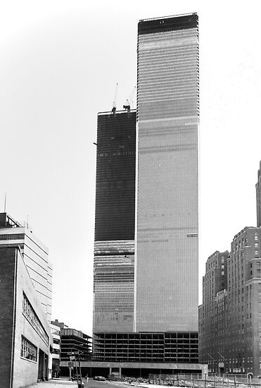 World Trade Center 1971 the Other Side by Rick Gold