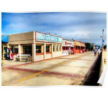Hermosa Beach Boardwalk Poster