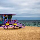 Lifeguard Tower by Eddie Yerkish