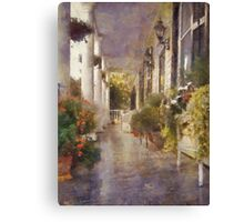 A Day Of Leisure Canvas Print