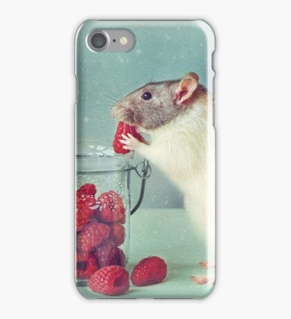 Snoozy always loves his food iPhone Case/Skin