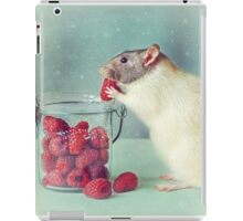 Snoozy always loves his food iPad Case/Skin