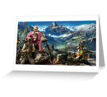 farcry 4 extended cover art Greeting Card
