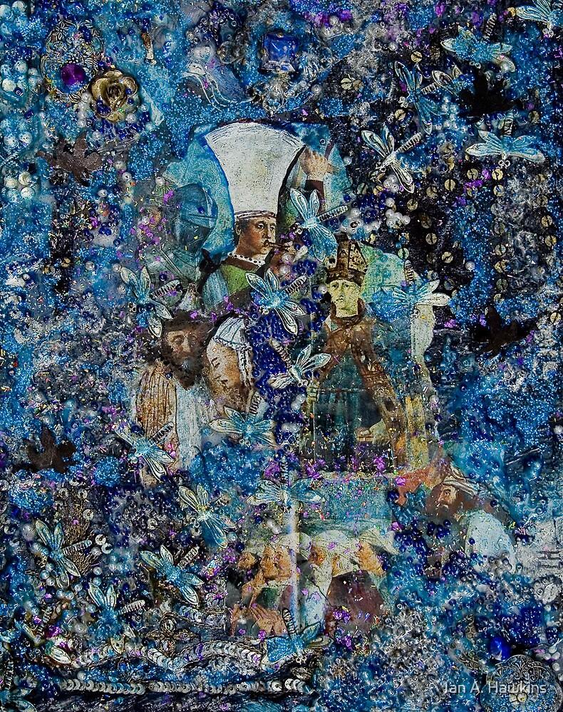 Inspired by Piero della Francesca. by Ian A. Hawkins