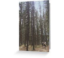 Forest Wanderers Greeting Card