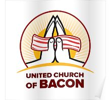 God Bacon Poster