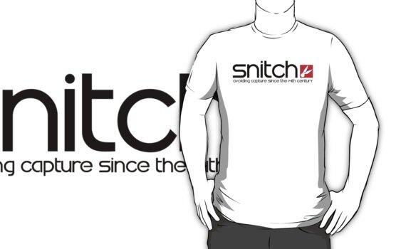 Snitch x Swatch Logo Parody by FAMOUSAFTERDETH