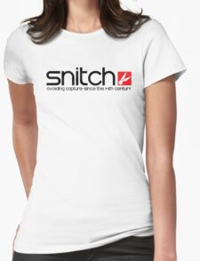 Snitch x Swatch Logo Parody Womens Fitted T-Shirt