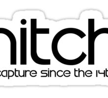 Snitch x Swatch Logo Parody Sticker