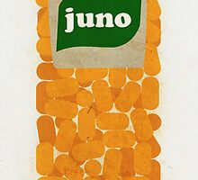 Juno Film Poster by paulrice