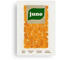 Juno Film Poster Canvas Print