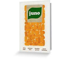 Juno Film Poster Greeting Card