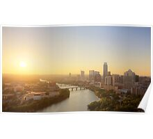 Austin Sunset Poster
