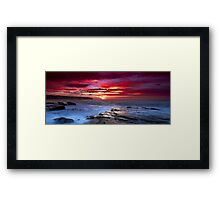 The Hues of Dawn Framed Print