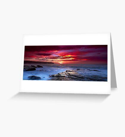 The Hues of Dawn Greeting Card