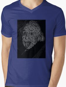 Albert Einstein quotes Mens V-Neck T-Shirt