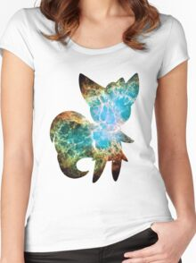 Meowstic (Male) used psyshock Women's Fitted Scoop T-Shirt