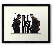 the last of us Framed Print