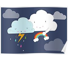 Get well soon little cloud Poster