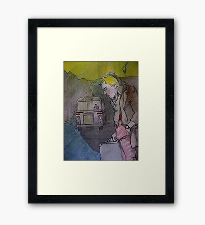 Cathy Unearthed Drawing 1 Framed Print