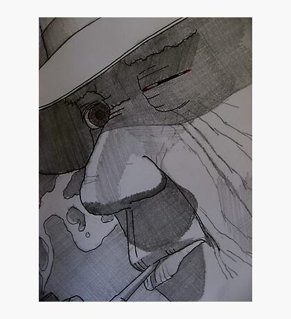 Cathy Unearthed Drawing 2 Photographic Print