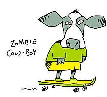 Zombie cowboy by Matt Mawson