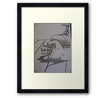 Cathy Unearthed Drawing 3 Framed Print