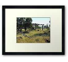 Settlers Hut  Framed Print