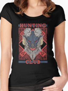 Hunting Club: Stygian Zinogre Women's Fitted Scoop T-Shirt