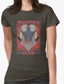 Hunting Club: Stygian Zinogre Womens Fitted T-Shirt