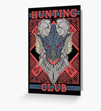 Hunting Club: Stygian Zinogre Greeting Card
