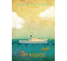 The Life Aquatic Film Poster Photographic Print