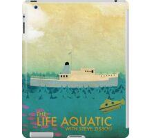 The Life Aquatic Film Poster iPad Case/Skin