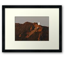 Our Lady of the Rockies Framed Print