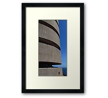 WW2 Occupation Tower, Corbiere Framed Print
