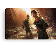 the last of us cover art Canvas Print