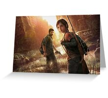 the last of us cover art Greeting Card