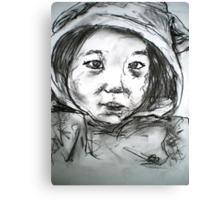 Child in an Eeyore Suit Canvas Print