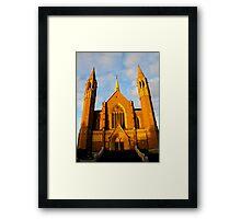 Sacred Heart Cathedral, Bendigo Framed Print