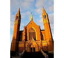 Sacred Heart Cathedral, Bendigo Photographic Print